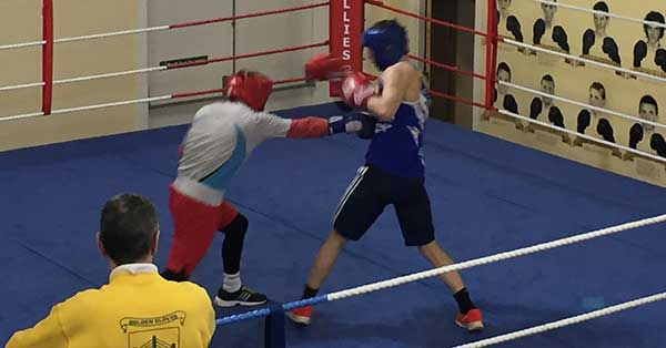Community Finance Ireland client Illies Golden Gloves Boxing Club
