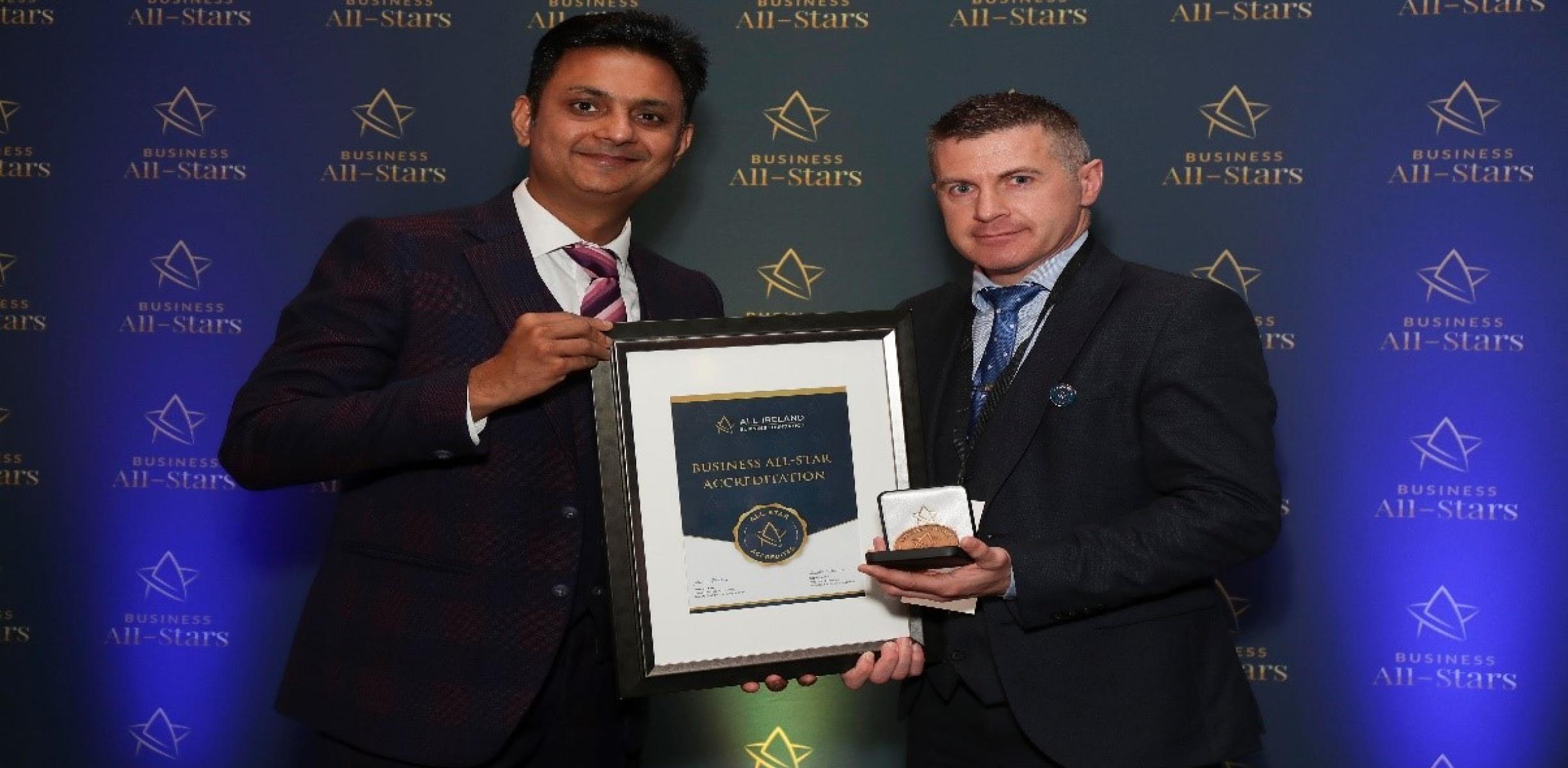Community Finance Ireland All Stars Business Accreditation